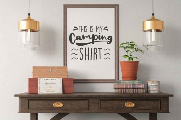 Download Free This Is My Camping Shirt Svg File For Ad Graphic By Svgsupply for Cricut Explore, Silhouette and other cutting machines.