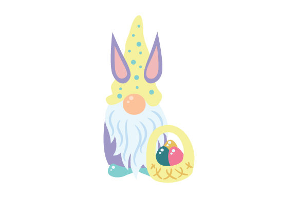 Easter Gnome Easter Craft Cut File By Creative Fabrica Crafts - Image 1