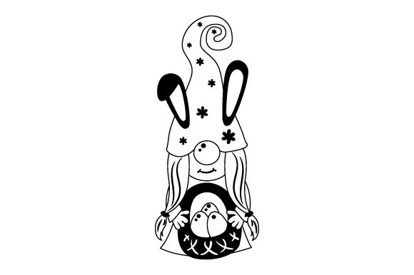 Download Free Easter Gnome Svg Cut File By Creative Fabrica Crafts Creative for Cricut Explore, Silhouette and other cutting machines.