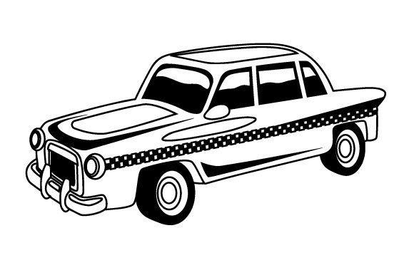 Download Free Taxi Cab Svg Cut File By Creative Fabrica Crafts Creative Fabrica for Cricut Explore, Silhouette and other cutting machines.