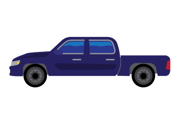 Download Free Pickup Truck Svg Cut File By Creative Fabrica Crafts Creative for Cricut Explore, Silhouette and other cutting machines.