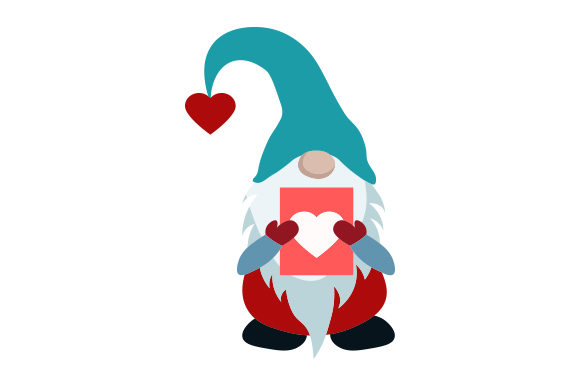 Valentine's Gnome Valentine's Day Craft Cut File By Creative Fabrica Crafts