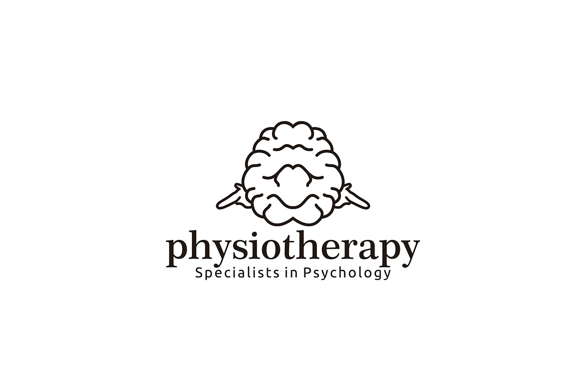 Download Free Brain Physioteraphy Logo Ideas Negative Graphic By for Cricut Explore, Silhouette and other cutting machines.