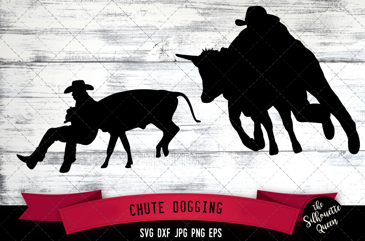 Download Free Chute Dogging Rodeo Svg Cowboy Svg Graphic By for Cricut Explore, Silhouette and other cutting machines.