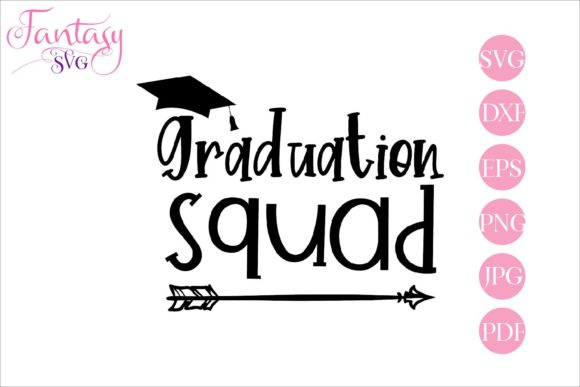 Print on Demand: Graduation Squad Graphic Crafts By Fantasy SVG - Image 1