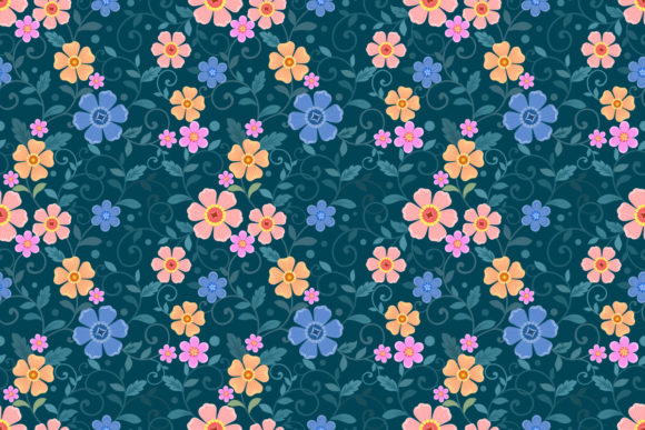 Download Free Cute Bear With Flowers Seamless Pattern Graphic By Ranger262 for Cricut Explore, Silhouette and other cutting machines.