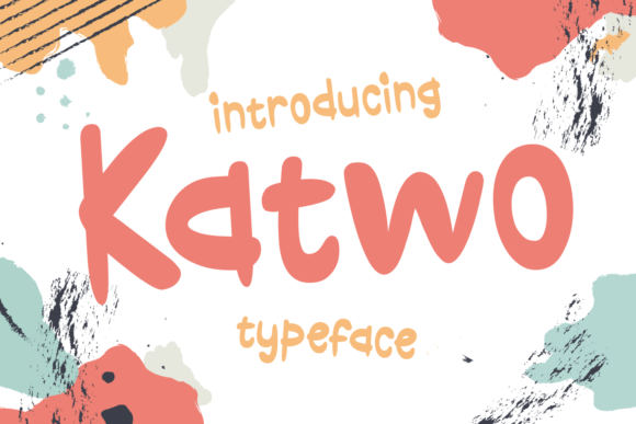 Print on Demand: Katwo Display Font By Dani (7NTypes)