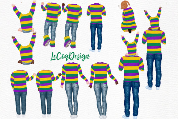 Mardi Gras Clipart Graphic Illustrations By LeCoqDesign - Image 2