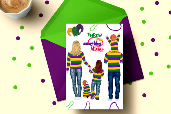Mardi Gras Clipart Graphic Illustrations By LeCoqDesign - Image 5