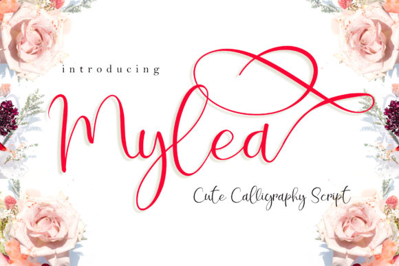 Print on Demand: Mylea Script & Handwritten Font By airotype