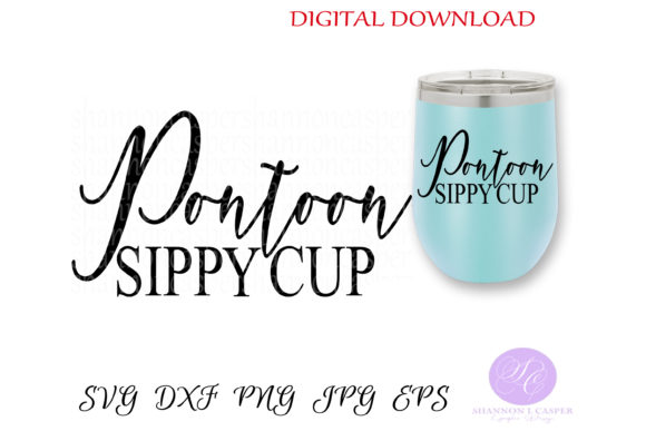 Print on Demand: Pontoon Sippy Cup Graphic Crafts By Shannon Casper