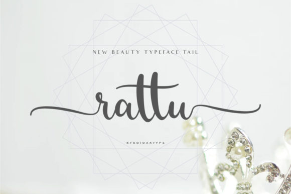 Print on Demand: Rattu Script & Handwritten Font By StudioAKTYPE