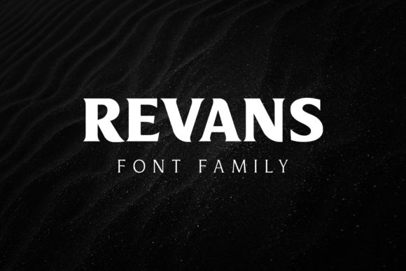 Print on Demand: Revans Serif Font By Arterfak Project