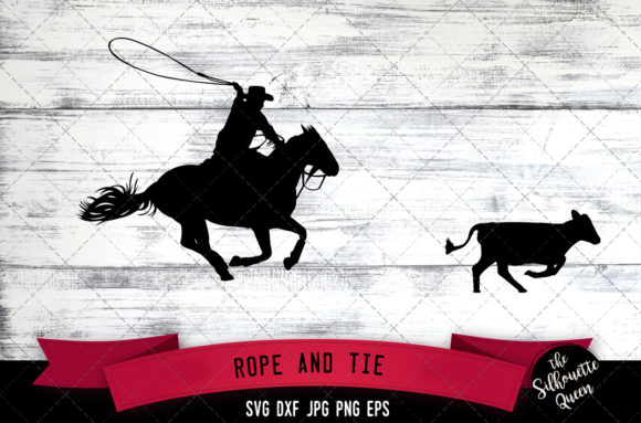 Download Rope and Tie, Rodeo Svg, Cowboy Svg