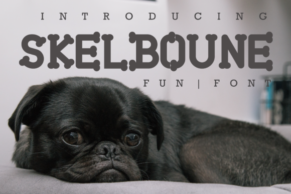 Print on Demand: Skelboune Display Font By fontkong - Image 1