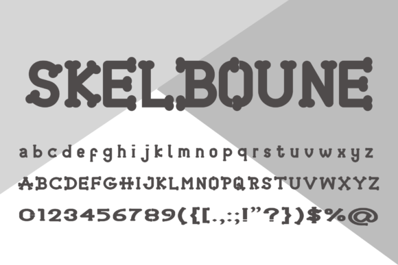 Print on Demand: Skelboune Display Font By fontkong - Image 6