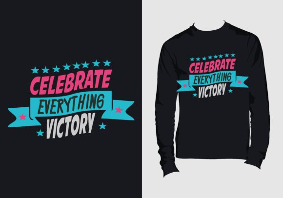 T-shirt Design with Motivation Quote Graphic Print Templates By Chairul Ma'arif