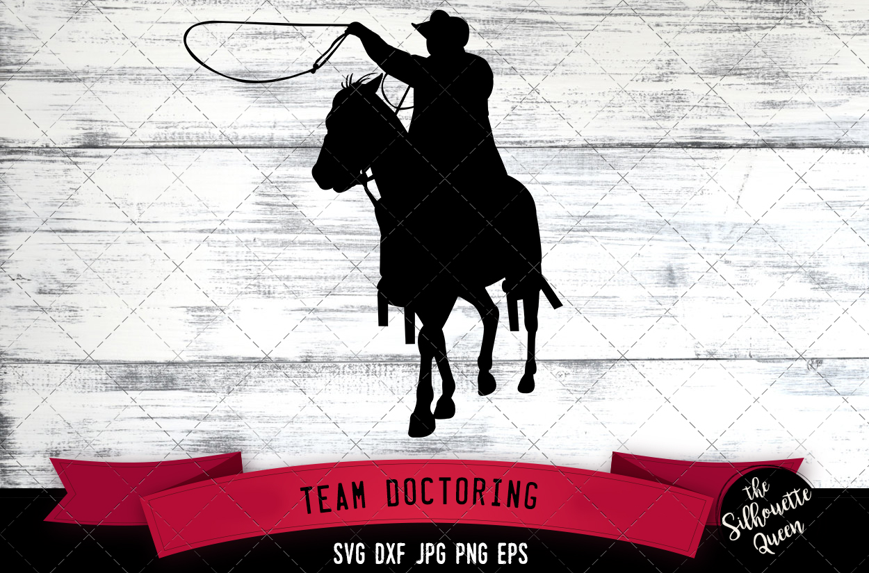 Download Free Team Doctoring Rodeo Svg Cowboy Svg Dx Graphic By for Cricut Explore, Silhouette and other cutting machines.