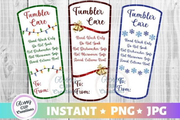 Print on Demand: Tumbler Care Pack - Holiday MD Graphic Crafts By suzannecornejo