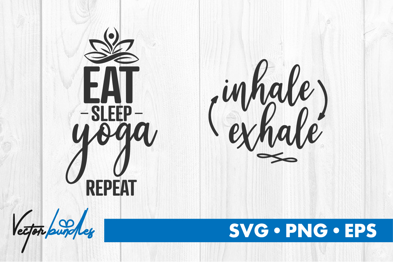 Yoga Quote Cut File Graphic By Vectorbundles Creative Fabrica