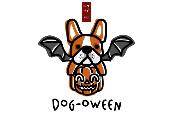 Dog-oween 3 Graphic Icons By Hdjs.design