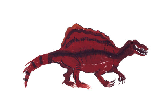 Spinosaurus Dinosaurs Craft Cut File By Creative Fabrica Crafts