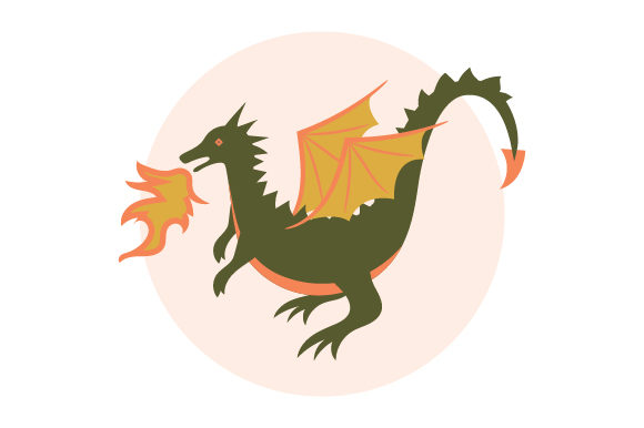 Dragon Fairy tales Craft Cut File By Creative Fabrica Crafts