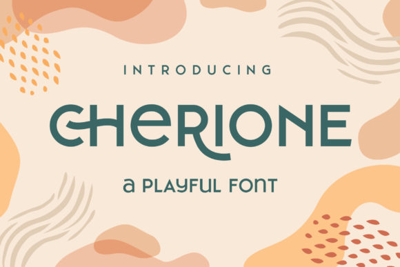 Print on Demand: Cherione Sans Serif Font By Arterfak Project