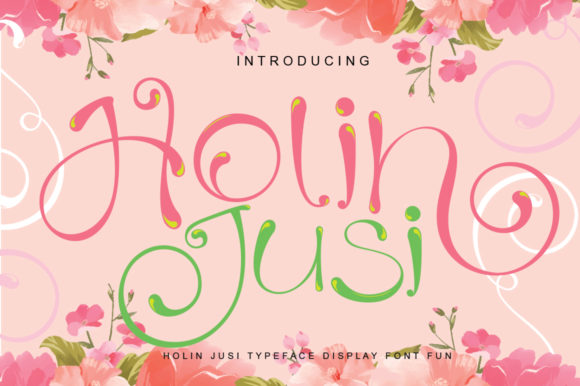 Print on Demand: Holiland Script & Handwritten Font By jehansyah251 - Image 3