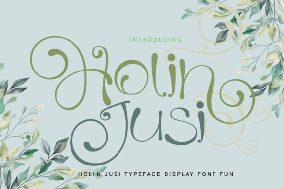 Print on Demand: Holiland Script & Handwritten Font By jehansyah251 - Image 6