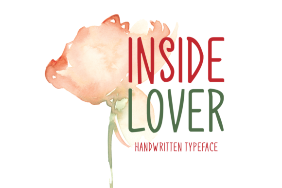 Print on Demand: Inside Lover Script & Handwritten Font By FontEden - Image 1