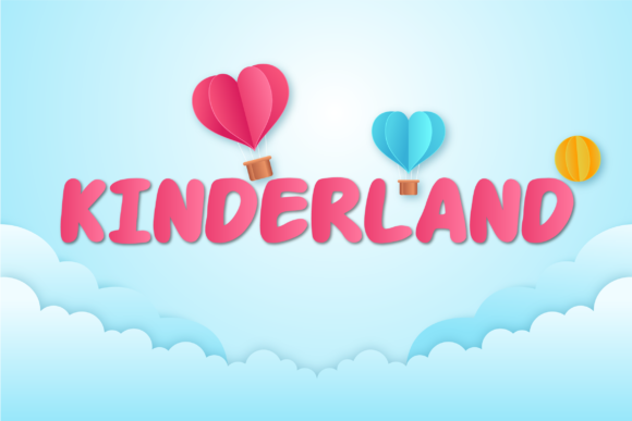Print on Demand: Kinderland Script & Handwritten Font By Hanna Bie
