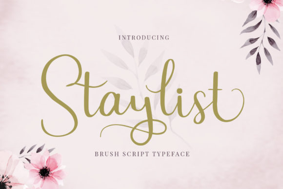 Print on Demand: Staylist Manuscrita Fuente Por josgandos