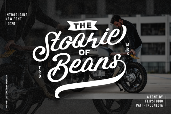 Print on Demand: Stoorie Beans Script & Handwritten Font By FlipStudio