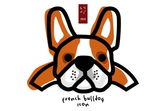 French Bulldog Lazy 2 Graphic Icons By Hdjs.design