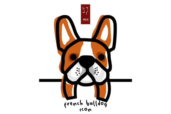 French Bulldog Lazy 3 Graphic Icons By Hdjs.design