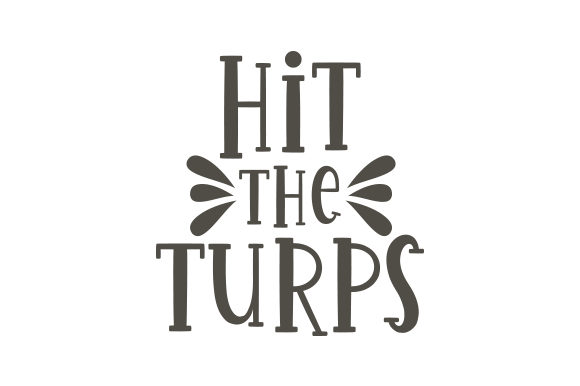 Hit the Turps Australia Craft Cut File By Creative Fabrica Crafts