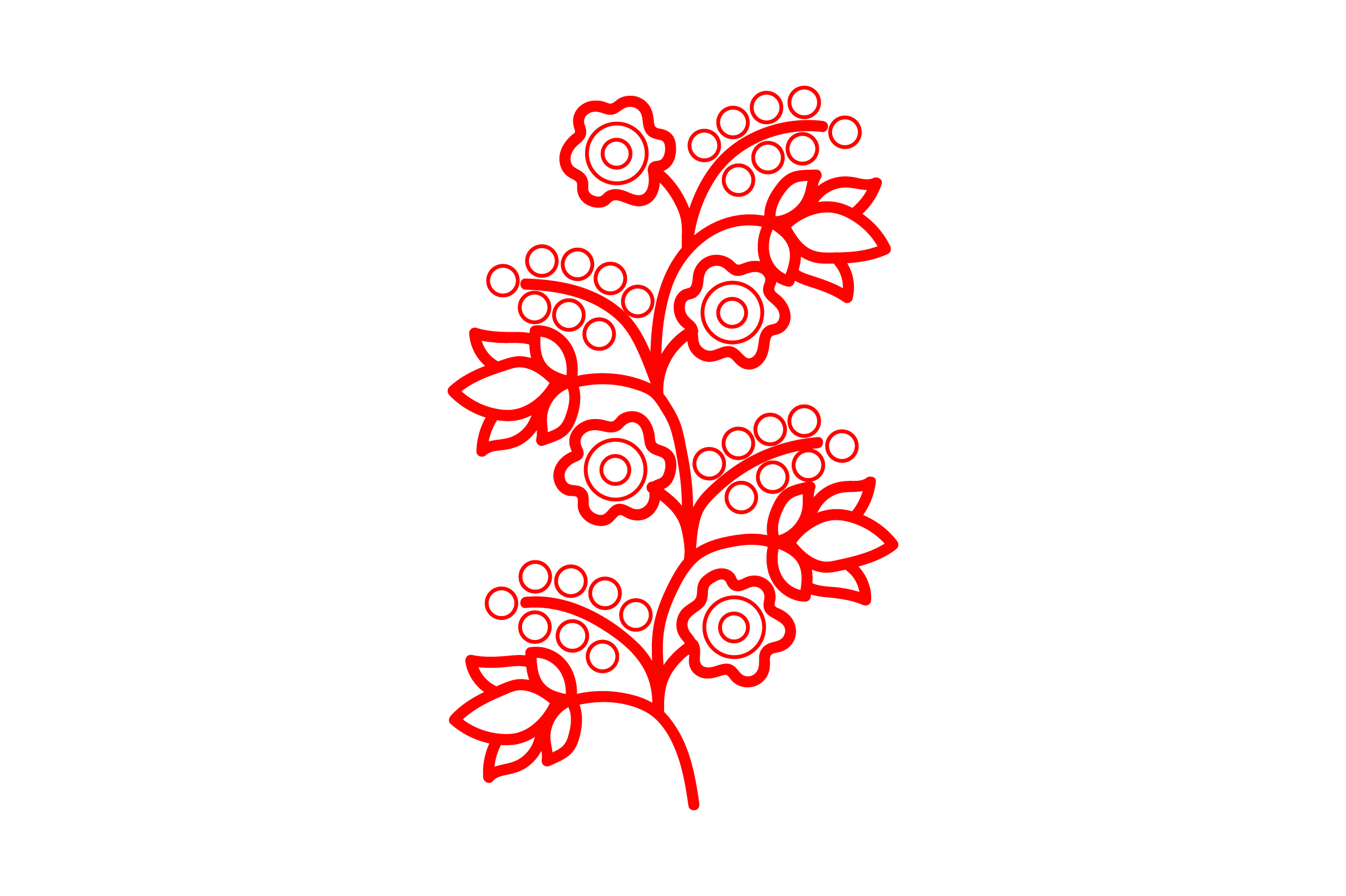 Download Free Redwork Flowers Svg Cut File By Creative Fabrica Crafts for Cricut Explore, Silhouette and other cutting machines.