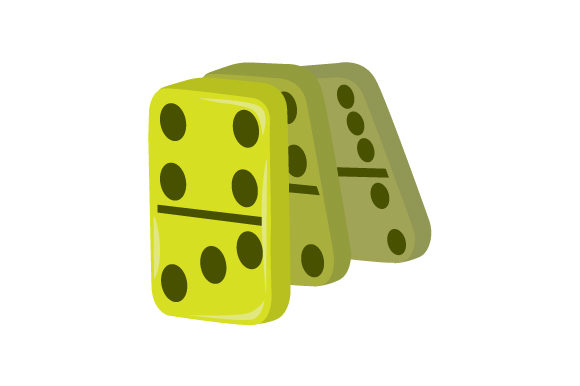 Dominoes Games Craft Cut File By Creative Fabrica Crafts - Image 1