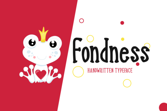 Print on Demand: Fondness Script & Handwritten Font By FontEden