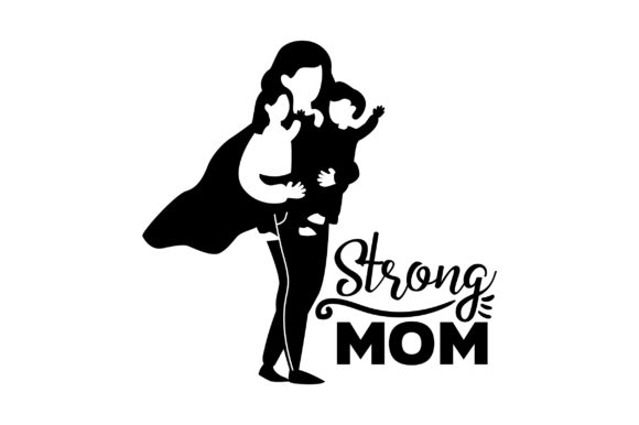 Download Free Strong Mom Svg Cut File By Creative Fabrica Crafts Creative Fabrica for Cricut Explore, Silhouette and other cutting machines.