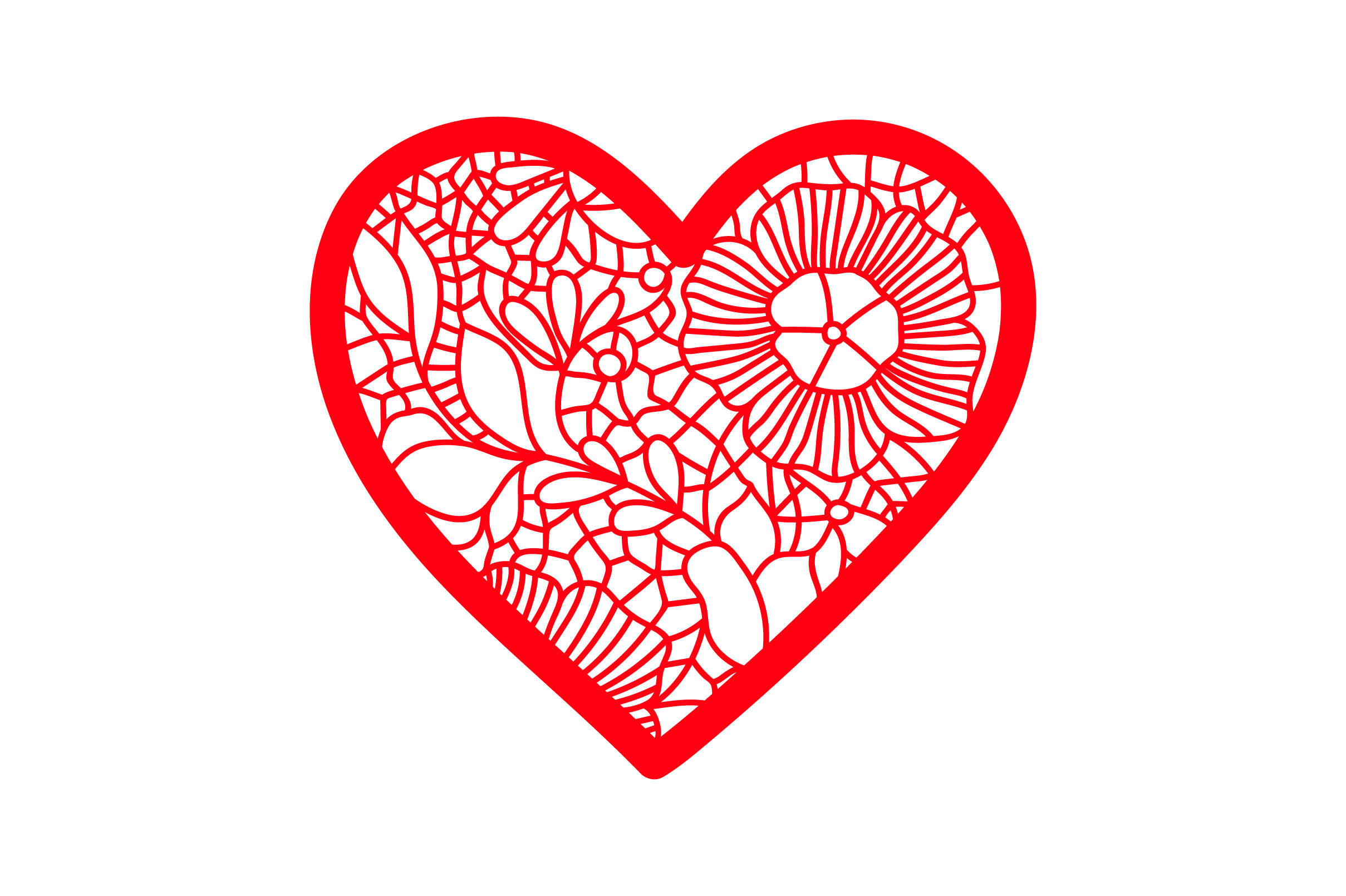 Download Free Victorian Valentine Outline Heart With Lace Details Svg Cut for Cricut Explore, Silhouette and other cutting machines.
