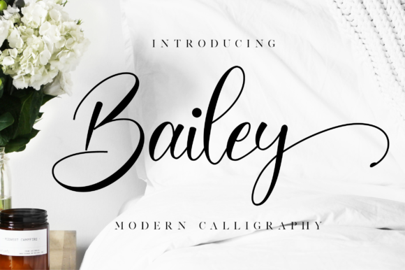 Download Free Bailey Font By Nissastudio Creative Fabrica for Cricut Explore, Silhouette and other cutting machines.