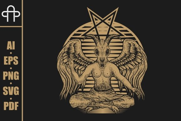 Print on Demand: Baphomet Satanic Graphic Illustrations By Andypp