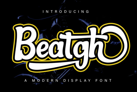 Print on Demand: Beatgh Display Font By Skiiller Studio