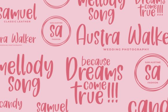 Print on Demand: Fresh Love Script & Handwritten Font By goodjavastudio - Image 5