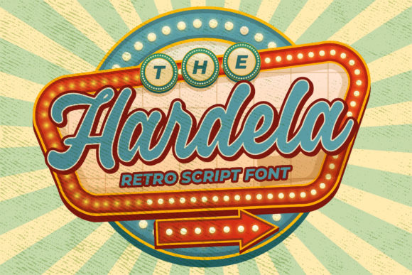 Print on Demand: Hardela Script & Handwritten Font By Blankids Studio