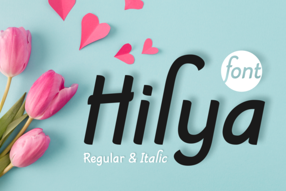 Print on Demand: Hilya Sans Serif Font By Jasm (7NTypes)