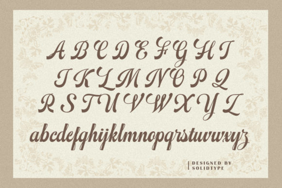 Print on Demand: Mathovia Script Script & Handwritten Font By Solidtype - Image 6