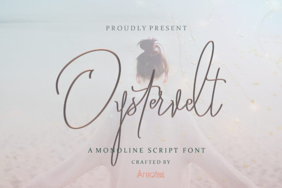 Print on Demand: Oystersvelt Script & Handwritten Font By arttotell